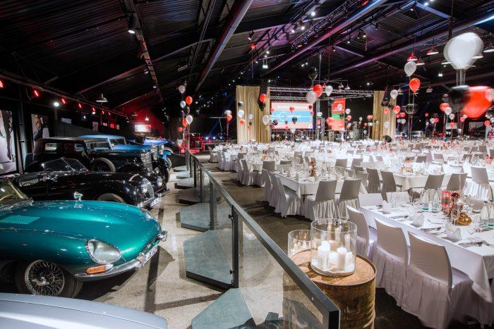 Eventhalle während einer Veranstaltung in Kirchzarten